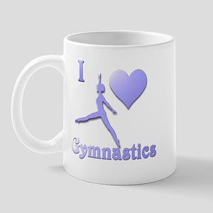 I Love Gymnastics #7 Mug