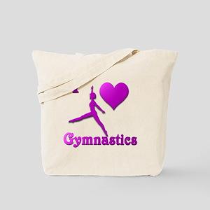 I Love Gymnastics #8 Tote Bag