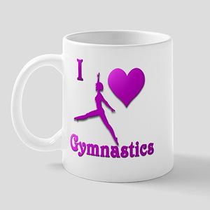 I Love Gymnastics #8 Mug
