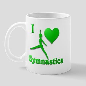 I Love Gymnastics #9 Mug
