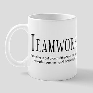 Teamwork: People Suck Mug