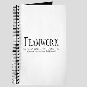 Teamwork: People Suck Journal