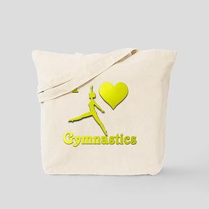 I Love Gymnastics #10 Tote Bag