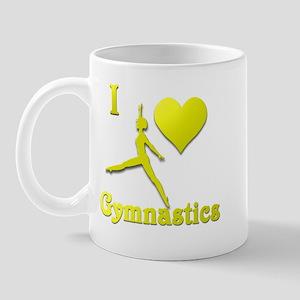 I Love Gymnastics #10 Mug