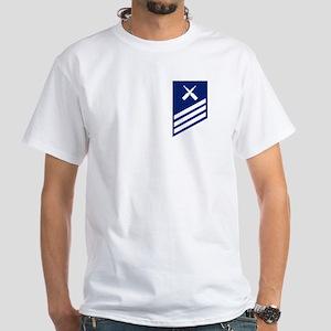 Seaman Gunner's Mate White T-Shirt