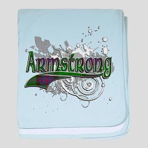 Armstrong Tartan Grunge baby blanket