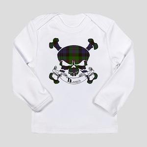 Baird Tartan Skull Long Sleeve Infant T-Shirt