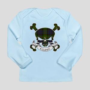 Gunn Tartan Skull Long Sleeve Infant T-Shirt