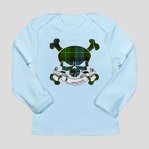 Lamont Tartan Skull Long Sleeve Infant T-Shirt