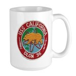 USS CALIFORNIA Large Mug