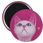 Cotton Candy Round Magnet Magnets