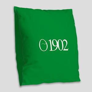 Norwich City FC 1902 Burlap Throw Pillow