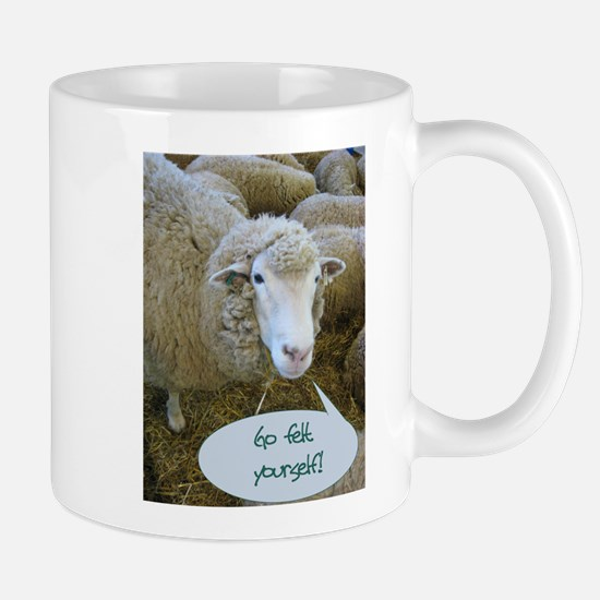 Go Felt Yourself Mug