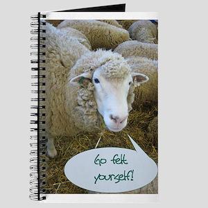 Go Felt Yourself Journal