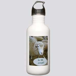 Go Felt Yourself Stainless Water Bottle 1.0L