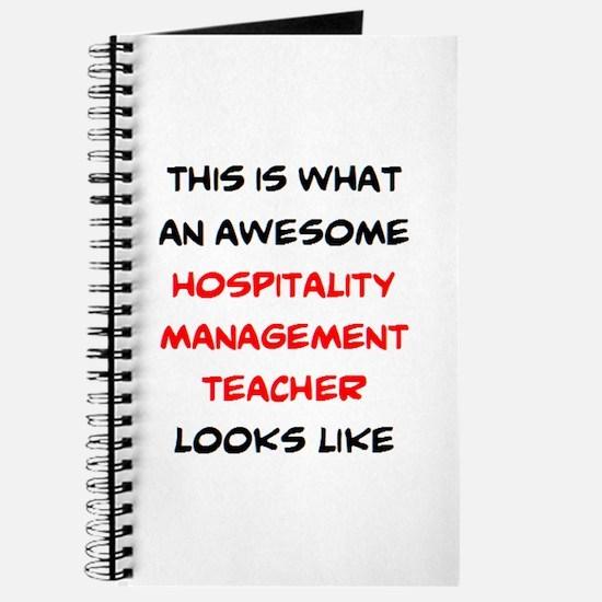awesome hospitality management Journal