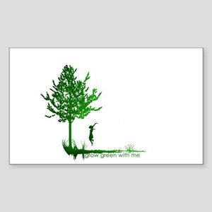 Grow With Me Sticker (Rectangle)