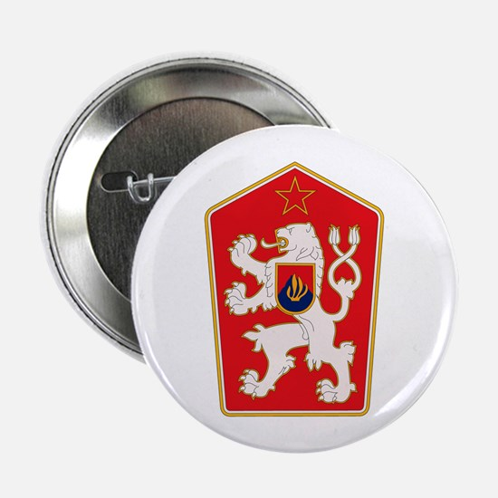 "Czechoslovakia Coat of Arms 2.25"" Button (10 pack)"