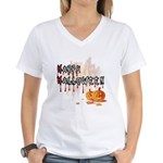 Happy Halloween Women's V-Neck T-Shirt