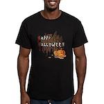 Happy Halloween Men's Fitted T-Shirt (dark)