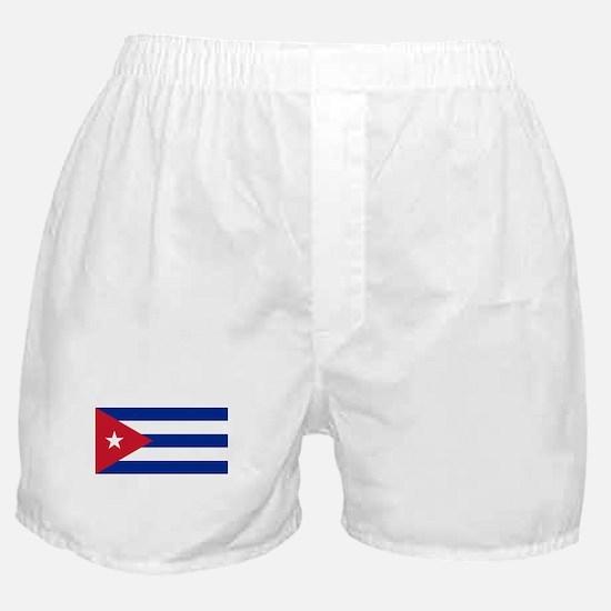 Cuban Flag - Bandera Cubana - Flag of Boxer Shorts