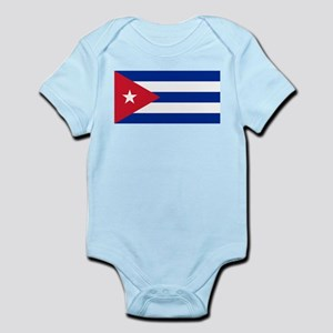 Cuban Flag - Bandera Cubana - Flag of Cu Body Suit