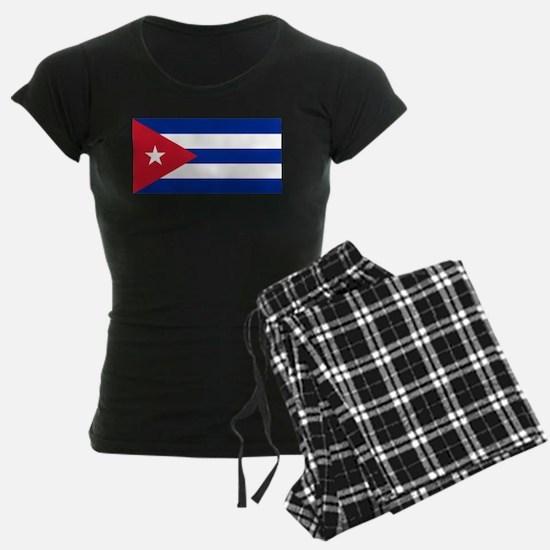 Cuban Flag - Bandera Cubana - Flag of Cuba Pajamas