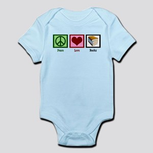 Peace Love Books Infant Bodysuit