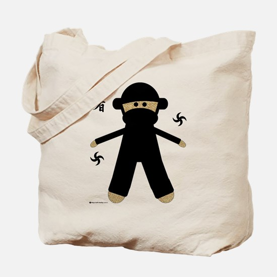 Unique Ninja baby Tote Bag