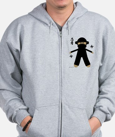 Funny Adults kids children baby toddlers Zip Hoodie