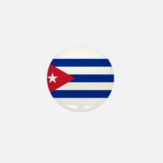 Cuban Flag - Bandera Cubana - Flag of Mini Button