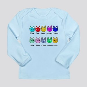 Spanish Counting Long Sleeve Infant T-Shirt