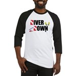 Diver Upside Down Baseball Jersey