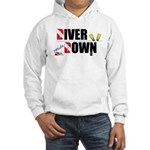 Diver Upside Down Hooded Sweatshirt