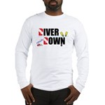 Diver Upside Down Long Sleeve T-Shirt
