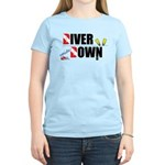 Diver Upside Down Women's Light T-Shirt
