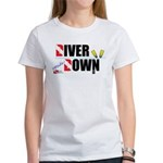 Diver Upside Down Women's T-Shirt