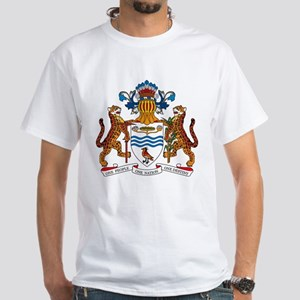 Guyana Coat of Arms White T-Shirt