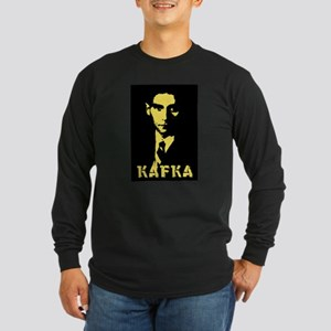 Franz Kafka Long Sleeve Dark T-Shirt