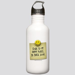 Happy Place Stainless Water Bottle 1.0L