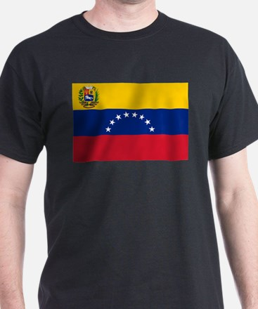Venezuelan Flag - Flag of Venezuela - Band T-Shirt