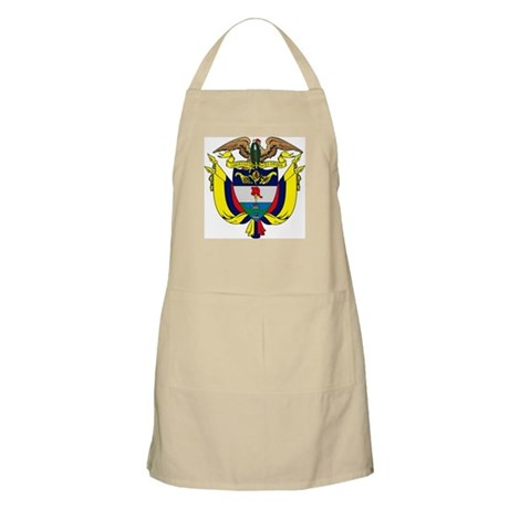 Colombia Coat of Arms BBQ Apron