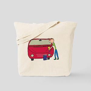 Car Washing Tote Bag