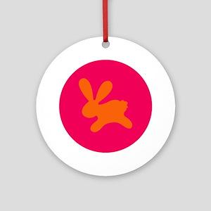 Rabbit O Ornament (Round)