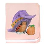 Halloween Ladybug Infant Blanket