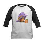 Halloween Ladybug Kids Baseball Jersey
