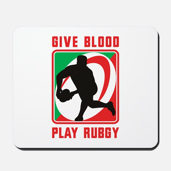 Rugby player pass Mousepad