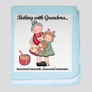Baking with Grandma Infant Blanket