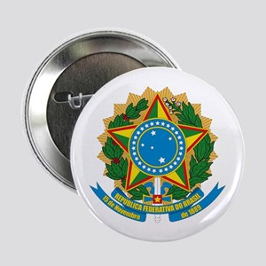 "Brazil Coat of Arms 2.25"" Button (10 pack)"