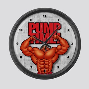 Pump Time!2 - Large Wall Clock